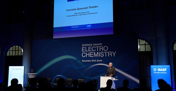 Science Award Electrochemistry